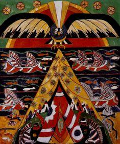 Indian Fantasy, Marsden Hartley