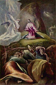 La oración en el huerto El Greco