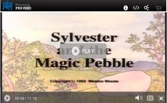 Online version of 'Sylvester and the Magic Pebble', a heart warming story by William Steig. Run Time 11min 15 sec.