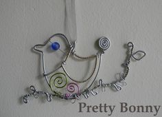 bird made from wire - Google Search