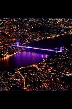 Boğaziçi Köprüsü in İstanbul, İstanbul