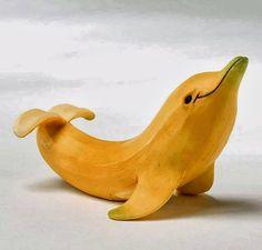 Delfín de plátano
