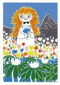 Miffle Postcard Print no.13 Moomin Finland