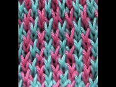 Lace Knitting Patterns - Free Knitting Tutorials - Watch Knitting- pattern 20 - Fish Thorn - YouTube