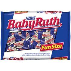 Candy 'station'/jar - $2.50 Nestle Baby Ruth Fun Size Candy Bars, 11.5 oz