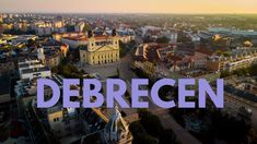 Debrecen is the capital of Hungary's Northern Great Plain region. Its Reformed Church sits on the expansive main square, Kossuth Tér. Capital Of Hungary, Hungary Travel, Great Plains, 19th Century, Tower, History, City, Youtube, City Landscape
