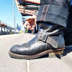 Mens Shoes Boots, Men's Shoes, Shoe Boots, Fashion Boots, Mens Fashion, Custom Boots, Engineer Boots, S Man, Work Wear