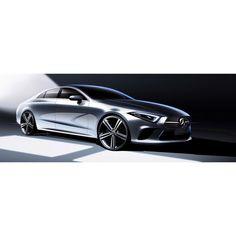 いいね!516件、コメント5件 ― Balázs Filczerさん(@balazsfilczer)のInstagramアカウント: 「Official Press Sketch for the all new Mercedes-Benz CLS. Such a beautiful…」