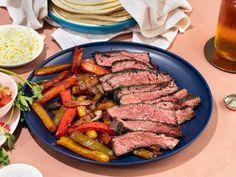 Grilled Beef Fajita Recipe, Steak Fajita Marinade, Marinated Steak, Steak Fajitas, Grilled Meat, Grilling Recipes, Beef Recipes, Cooking Recipes, Mexican Dishes