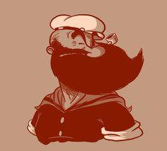 13 Personajes Famosos Usando Barba… El