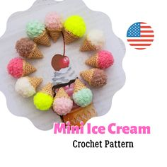 Octopus Crochet Pattern, Quick Crochet Patterns, Crochet Animal Patterns, Crochet Patterns Amigurumi, Amigurumi Toys, Pattern Cute, Handmade Crafts, Handmade Ideas, Food Patterns