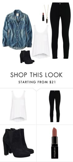 """""""Iris West Inspired Outfit"""" by daniellakresovic ❤ liked on Polyvore featuring rag & bone, STELLA McCARTNEY and Smashbox"""