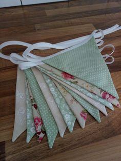 Vintage shabby chic bunting from Nanny Buntings on Facebook Shabby Chic Bunting, Vintage Shabby Chic, Buntings, Facebook, Bunting Garland, Shabby Chic Style