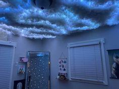 Bedroom Setup, Room Design Bedroom, Bedroom Ceiling, Room Ideas Bedroom, Home Room Design, Home Decor Bedroom, Indie Room Decor, Aesthetic Room Decor, Cloud Bedroom