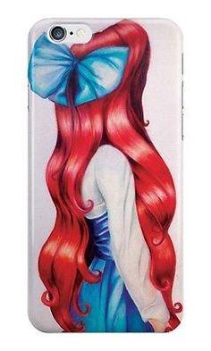Disney Ariel Little Mermaid For iPhone 6 plus 5 5s 5c 4 4s Case Cover