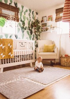 Boho nursery, nursery rugs, nursery neutral, nursery themes, girl n Nursery Rugs, Boho Nursery, Nursery Themes, Girl Nursery, Nursery Decor, Nursery Ideas, Budget Nursery, Bedroom Ideas, Baby Bedroom