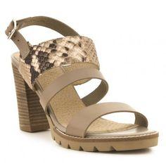 Sandalia tacón piel FOSCO SUMMER Wedges, Shoes, Fashion, Shoes Sandals, Fur, Women, Moda, Zapatos, Shoes Outlet