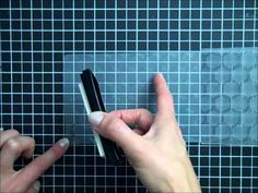 Stamping with Embossing Folders - YouTube