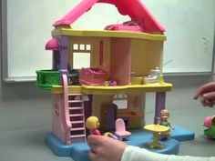 Playing w/Dollhouse (Video Modeling) - Using video modeling to teach skills