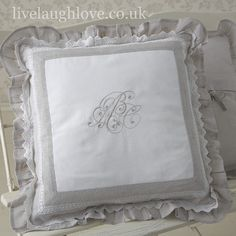 Decorative Cushion Cover-Cecilie with Pad