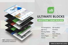 Download Best 150+ Free and Premium HTML5 Bootstrap Web Templates in 2016-2017 for Business/Corporate, Portfolio, Blog, App, Dashboard and WordPress Website