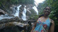 The first cascade in Kuala terengganu.  7 layers