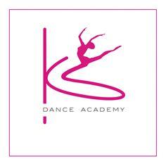 KS Dance Academy.  Creative flowing logo design.  #logo #design  www.dinkcreative.co.uk