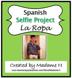 La Ropa is an engaging activity that helps Spanish students to practice with clothing terminology.  Your students will love this activity!