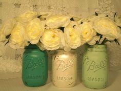 Vintage mason jars.