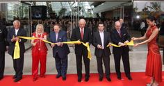 Yellow Ribbon Cutting Ribbon and Red Carpet - The Grand Opening Store