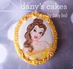 Belle portrait by Dany's Cakes | Cookie Connection