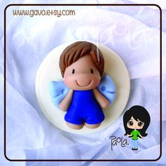 Boy Angel Baptism First Communion Favors by gavo on Etsy