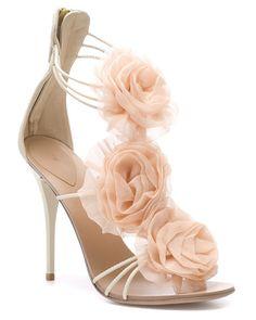 Giuseppe Zanotti Leather Rose