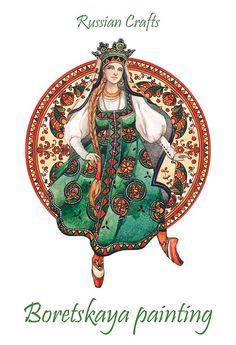 Russian Crafts seria by Mila Losenko
