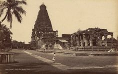 RARE IMAGES OF TANJORE, TAMIL NADU, INDIA