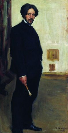 Portrait of D.F. Bogoslovsky Boris Kustodiev · 1900 -