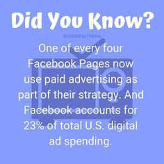 Are you using ads? Considering it?  . . In my experience with ads they can be extremely beneficial if you are selling a tangible good. If you are selling yourself, meaning if you are a influencer or micro- influencer, ads can be a slippery slope. My recommendation would be to focus on other ways to engage with your target audience. . #changeagent #everheartmedia #marketingplan #marketingtools  #marketingstrategy  #marketingtips  #digitalmarketing #marketingonline  #marketingcoach… Marketing Plan, Marketing Tools, Online Marketing, Digital Marketing, Social Media Ad, Agent Of Change, Target Audience, To Focus, Did You Know