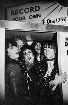 The New York Dolls are an American hard rock band formed in New York City in Along with the Velvet Underground and the Stooges, they . Proto Punk, Johnny Thunders, 70s Punk, Hanoi Rocks, Rich Boy, Glam And Glitter, Glam Rock, Kinds Of Music, Classic Rock