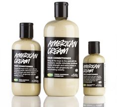 American Cream Strawberry and Vanilla Conditioner