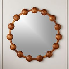 modern wall mirrors dazzle in the living room, bedroom and entryway. Find square and round mirrors for every space. Large Round Mirror, Round Wall Mirror, Wood Mirror, Mirror Set, Round Mirrors, Mantel Mirrors, Home Decor Mirrors, Wall Mirrors, Mirror Border
