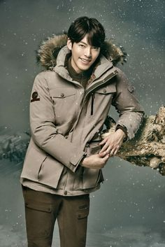 Kim Woo Bin Looks Charming in Outdoor Outfits for Merrell