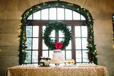 Christmas Wedding Decor Ideas | photography by http://www.ariellephoto.com/