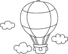 Resultado de imagen para globos aerostaticos sencillos para pintar