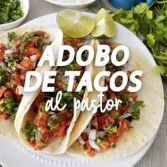 Are you looking for a quick and easy recipe for those busy weeknights? These carne asada street taco Authentic Mexican Recipes, Mexican Food Recipes, Pork Recipes, Seafood Recipes, Chicken Recipes, Healthy Recipes, Kitchen Recipes, Cooking Recipes, Easy Dinner Recipes