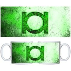 Estampa para caneca Lanterna Verde 000494 9ae810e57fd41