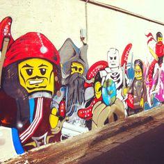 Street art in Enmore, Sydney.