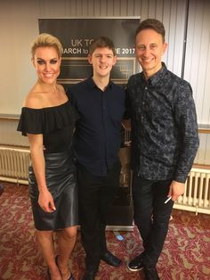 I was very honoured to assist Ian Waite and Natalie Lowe at the Mansfield Theatre on their UK Tour 2017.