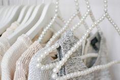 pretty pearl hangers!