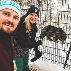 So sehen stolze Bärenpaten aus  Habt ihr auch einen schönen Vorsatz oder Einsatz für 2018?