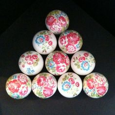 Great knobs for the wardrobes
